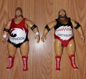 WWE The Natural Disasters Earthquake/Typhoon Jakks Classic Superstars