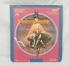 SelectaVision CED Video Disk Dragon Slayer