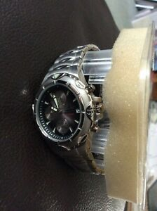 Adidas Men's Sport Watch VSC300 Silver band new other VS chronograph boxed