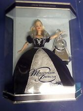 MILLENNIUM PRINCESS BARBIE, FIRST RUN, 2000, WITH STARS AS BACKGROUN, S. E.