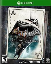 NEW Batman: Return to Arkham (Microsoft Xbox One, 2016)