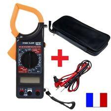 Multimètre testeur pince amperemetrique digital voltmètre ohmmètre électrique