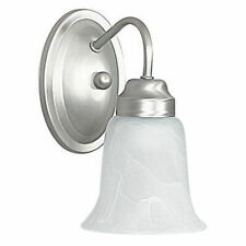 Sunset Lighting F3331-53 One Light Wall Sconce,Satin Nickel Finish (see notes)