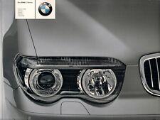 BMW 7-Series E65 2003 UK Market Sales Brochure 730i 735i 745i 760i 730d Li SE