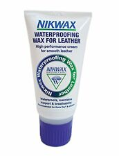 Nikwax Waterproofing Wax for Leather Walking Boots 100ml Cream Gore-Tex Saddlery