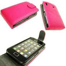 caseroxx Flip Cover for Samsung S5830 Galaxy Ace in pink made of faux leather
