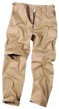 Pantalon treillis Short BDU zip-off beige - taille XL 50 - 52