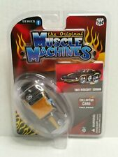 The Original Muscle Machines Series 1 1969 Mercury Cougar Black