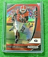 TODD GURLEY II PRIZM RED CARD JERSEY #3 RAMS 2020 Prizm DP SP RED REFRACTOR