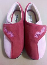 Padders Slippers Size UK 8 Red Pink 'hug' NEW