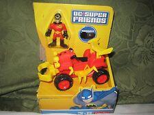 Imaginext Dc Super Friends Fisher Price Robin 4 Wheeler four atv boy wonder New