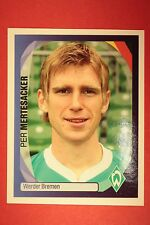 PANINI CHAMPIONS LEAGUE 2007/08 N. 96 MERTESACKER W. BREMEN BLACK BACK MINT!!