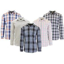 Mens L/S Cotton Dress Shirts Slim-Fit Casual Collar & Cuffs Fancy Pattern NEW