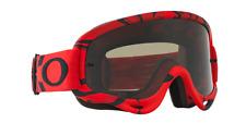 Oakley o-frame MX enduro MTB gafas Intimidator rojo negro vidrio gris