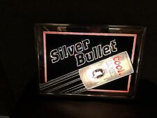 Awesome Coors Light Silver Bullet Sign Light Up Sign Bar Man Cave