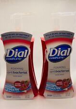 2 Dial Complete Foaming Hand Soap Power Berries Scent 7.5fl ANTIBACTERIA