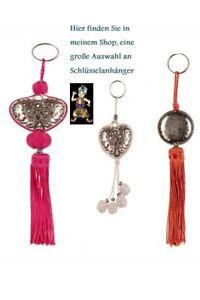 Orientalischer Schlüsselanhänger mit Quaste aus Marokko Nr. 147Q NEU