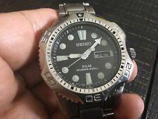 Mens SEIKO Solar 200m V158 0AE0 Air Diver's Scuba Diver 20ATM WATCH  Collectible