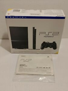 Sony Playstation 2 PS2 Slim Console Original Box Only SCPH-77001 w/ Manuals