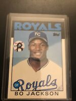 BO JACKSON 1986 TOPPS TRADE CARD #50-T KANSAS CITY ROYALS (ROOKIE)