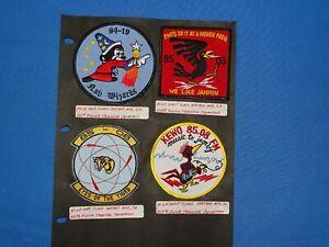 USAF / USN Training FTS Squadron Patch Lot (#21)