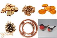 Christmas Wreath Decoration Garland Cinnamon Dried Oranges Apples Pine Cones