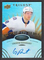 2014-15 Upper Deck Trilogy Hockey #159 Griffin Reinhart RC /399 Islanders