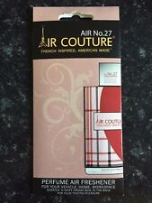 AIR COUTURE 27 INSPIRED BY BURBERRY DESIGNER FRAGRANCE HANGER FOR CAR OR HOME