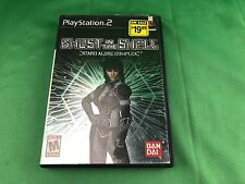 Ghost in the Shell: Stand Alone Complex *Complete* Tested PS2