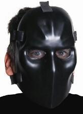 Evil Goalie Black Hockey Fancy Dress Up Halloween Adult Costume Accessory