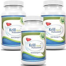 Antarctic Red Krill Oil 180 Softgels 1200mg serving Omega-3 Fatty Acids EPA DHA