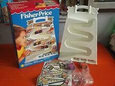 FISHER-PRICE PISTA MACCHININE A PRECIPIZIO 1992 NUOVO VINTAGE