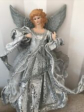 More details for vintage christmas tree angel fairy tree topper