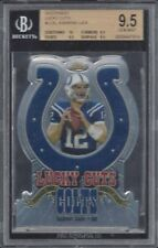 ANDREW LUCK 2012 TOPPS FINEST LUCKY CUTS DIE CUT REFRACTOR RC BGS 9.5 GEM MINT