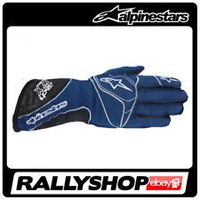 FIA ALPINESTARS Tech 1-ZX Gloves size M blue NOMEX RALLY RACING