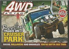 AUSTRALIAN 4WD ACTION - ISSUE 180 ROOTHY RAKES ON CRUISER PARK!