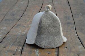 Sauna Hat wool Banya cap men women birthday present, protection against overheat