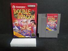 Double Dragon (Nintendo Entertainment System, 1988) NES Boxed FAIR No Manual