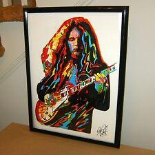 Gary Rossington, Lynyrd Skynyrd, Lead Guitar, Guitarist, 18x24 POSTER w/COA