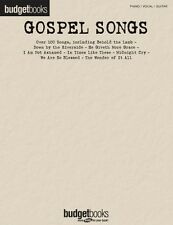 Gospel Songs Sheet Music Budget Books Piano Vocal Guitar SongBook NEW 000311734