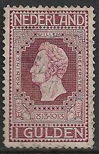 Netherlands 1913 NVPH 98P Plate Error  CANC  SF