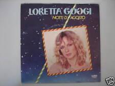 """LORETTA GOGGI """"Notti d'agosto"""" 45 nuovo di MAGAZZINO"""