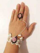 Lace Alloy Chain/Link Costume Bracelets