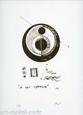 TEXIER RICHARD LITHOGRAPHIE SIGNÉE AU CRAYON NUM/100 HANDSIGNED NUMB LITHOGRAPH
