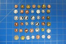 MINI TYPE SET OF 42 DIFFERENT NOVELTY COINS