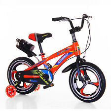 16'' Red Kids Bicycle Safe Easy Bike Training Wheels For Beginners,5 to 11 Years