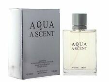 Aqua A Scent 3.3 Oz / 100 Ml  Eau de Toilette Spray  by Royal Fragrance FOR MEN