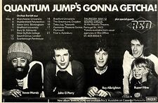 30/4/1977Pg11 Album & Tour Advert 7x10 Quantum Jump, Barracuda (red)