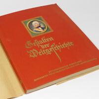 German Cigarette Card Album w/ Famous Persons of Four Centuries w/200 cards Book