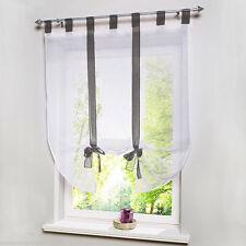 gardinen und vorhänge aus polyester | ebay - Küchengardinen Mit Schlaufen